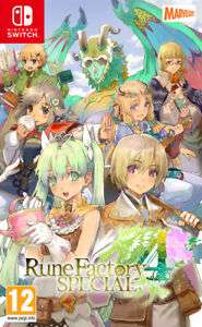 Rune Factory 4 Special (Nintendo Switch) Preorder - £24.90 @ TheGameCollection Outlet eBay