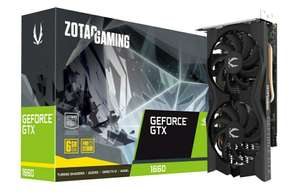 Zotac GeForce GTX 1660 6GB Boost Graphics Card from CCL/Ebay - £165.71