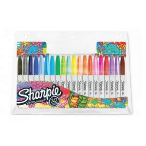 Pack of 20 Assorted Sharpie Fine Permanent Markers £7.99 Using Click & Collect @ Ryman