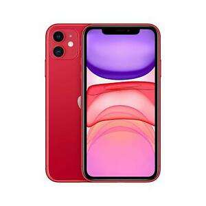 "Apple MWLV2B/A iPhone 11 4G 6.1"" Smartphone 64GB Unlocked Sim-Free - (Red) B+ - £524.79 @ cheapest_electrical ebay"