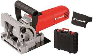 Einhell Biscuit Jointer with Dust Bag & Case (TC-BJ 900) - £47.79 @ Amazon