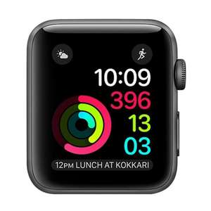Apple Watch Series 2 42mm (Space Grey / Grade A) Refurb - 12 month warranty £110.94 Delivered with code @ eBay / iRefurb