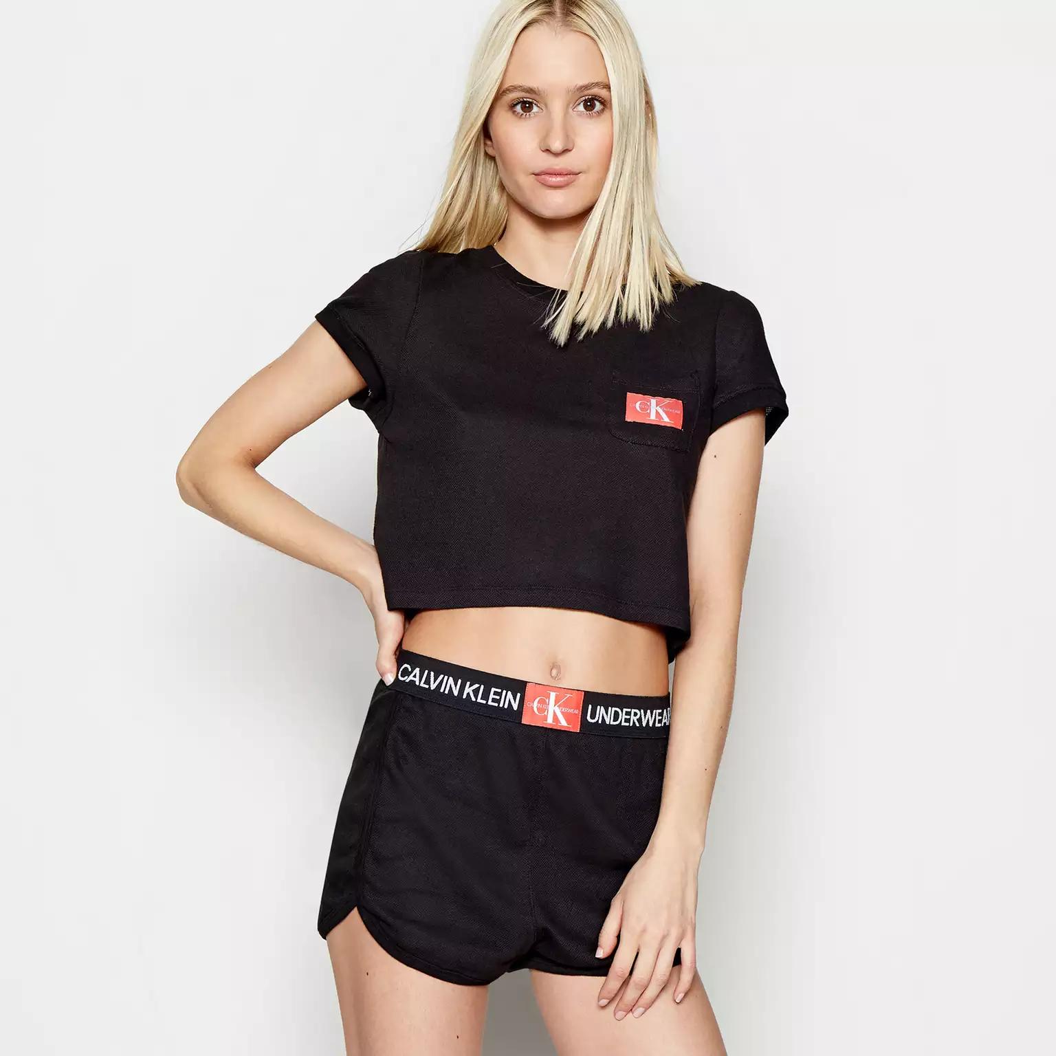 70% off Calvin Klein - Black & Grey Monogram Mesh Shorts at Debenhams. Was £40, now £12. Free C&C available.