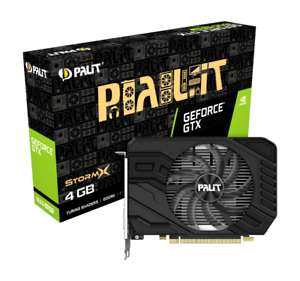 Palit GeForce GTX 1650 SUPER 4GB StormX Boost Graphics Card @ eBay /CCL £132