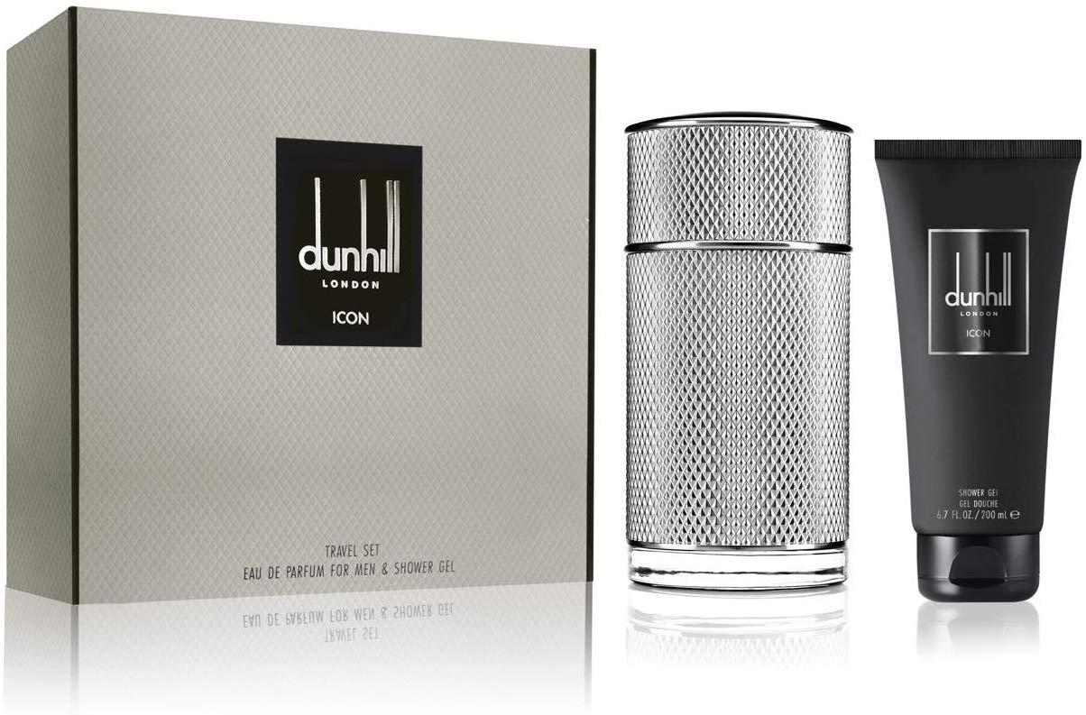 Dunhill London Icon Eau de Parfum Gift Set with Shower Gel, 50 ml @ Amazon - £35