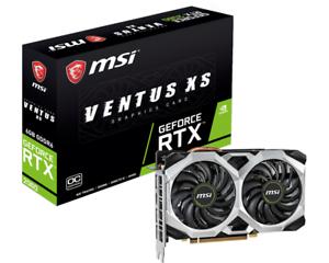 MSI GeForce RTX 2060 Ventus XS OC 6GB Graphics Card @ebay CCL Shop - £266.75