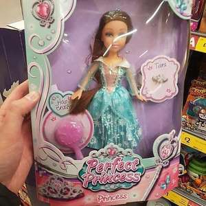 Perfect princess doll now £1 Morrison's speke