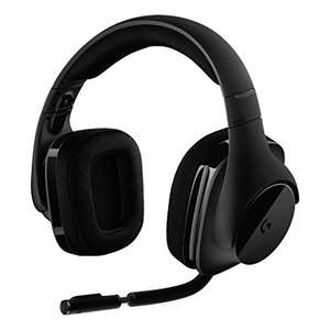 Logitech G533 Gaming Headset with Wireless DTS 7.1 Surround Sound - Black £59.44 at Amazon Italy