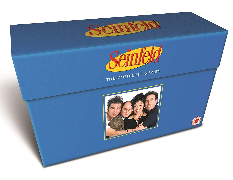 Seinfeld complete series plus extras - 33 disc DVD boxset £24.49 Amazon