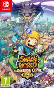 Snack World: The Dungeon Crawl - Gold (Switch) Pre-Order £31.78 @ thegamecollection eBay