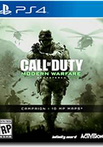 Call of Duty 4 (COD 4) Modern Warfare Remastered PS4 (Requires a US PSN account) £7.99 @ CD Keys