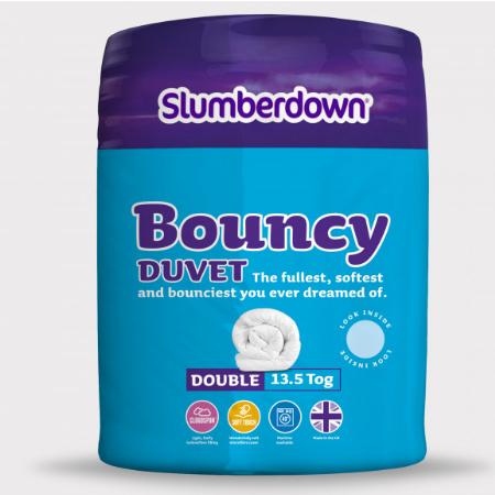 Slumberdown 13.5 Tog Double Bouncy Duvet £11.99 Delivered @ Sleepseeker