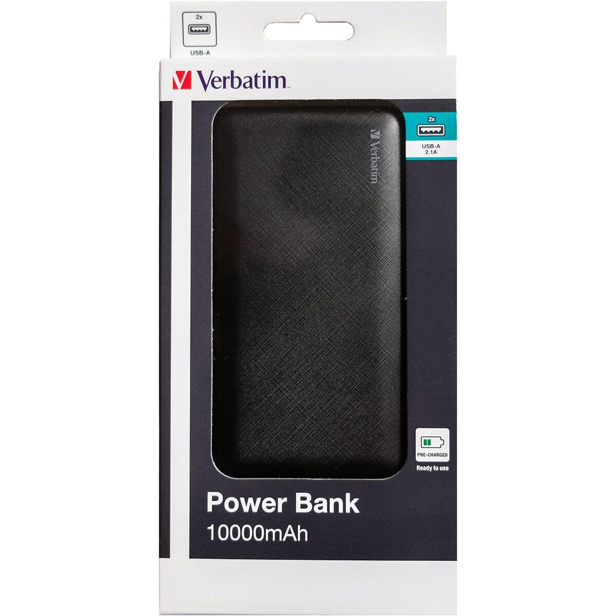 Verbatim 10000mAh Power Bank - Black - £12.99 @ Robert Dyas