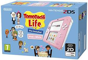 Nintendo 2DS - Console, Pink + Tomodachi Life (Preinstalled) £44.05 @ Amazon Spain