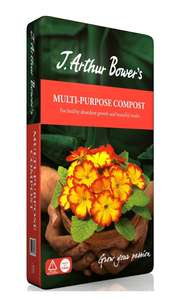 J Arthur Bowers Multi-Purpose Compost - 60L £3 at Homebase