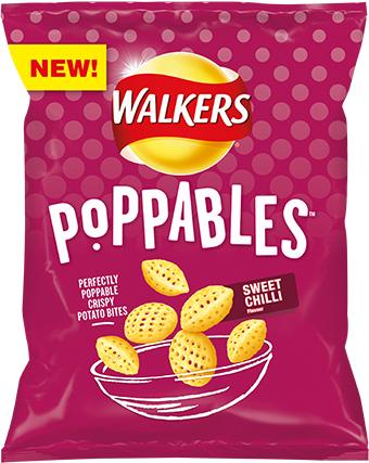 Walkers Poppable Sweet chilli (3 for £1) @ Heron Foods Nottingham