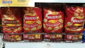 6 pack Walkers Crisps - 'Christmas Dinner for Sprout Haters' - 49p at Home Bargains Reading