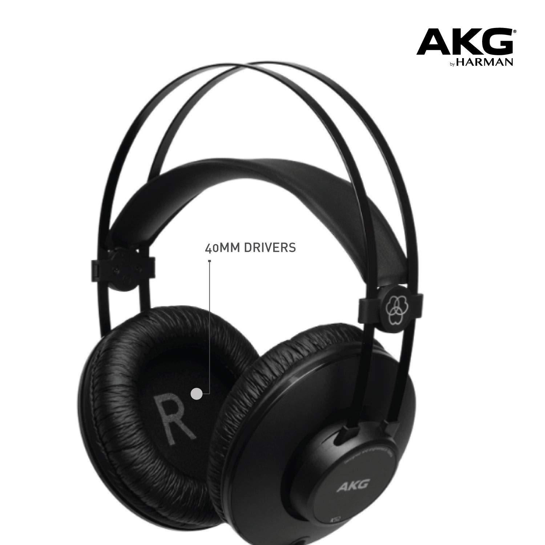 AKG K52 High Performance Closed-Back Monitoring Headphones £20.78 at Amazon