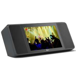 LG WK9 XBOOM AI ThinQ Smart Display Speaker With Google Assistant / Built In Camera / Wi-Fi / Bluetooth £99 Delivered @ Hughes