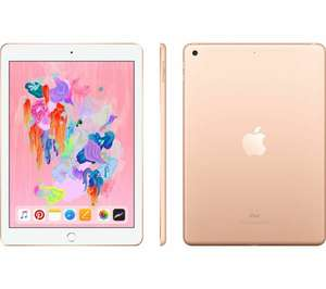 """Ipad 9.7"""" 128gb gold (2018) `Opened – never used` £278 with code @ Currys_clearance / eBay"""