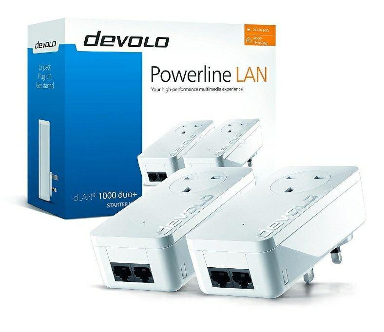 Devolo DLAN® 1000 Duo+ Starter Kit Powerline £35.99 + £2.95 at Box.co.uk