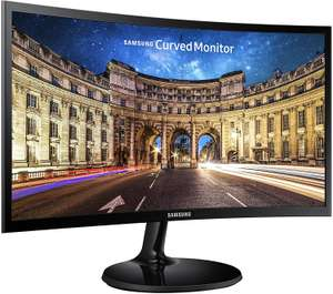 Samsung C24F390 24-Inch Curved LED Monitor 4ms - HDMI, VGA, Black for £77.59 delivered @ Amazon Spain