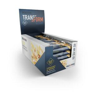 Multi-buy saving, 48x 80G SCI-MX PROTEIN FLAPJACK BOX YOGURT & HONEY BB 02/20 £22.40 - ebay / sci-mx_official_store