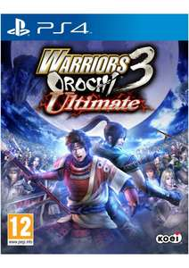 Warriors Orochi 3 Ultimate on PlayStation 4 for £6.99 Delivered @ Simplygames