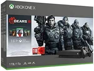 Xbox One X 1TB Gears 5 Bundle £248.06 'Like New - Damaged Packaging' @ Amazon Warehouse France (or approx £243.38 using fee free card)