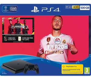 Sony PS4 500GB FIFA 20 Bundle £192.73 Open Box - Never Used @ Currys Clearance eBay using code