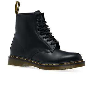 Dr Martens 1460 smooth black boots £103.95 plus an extra 10% off by subscribing to Surfdome