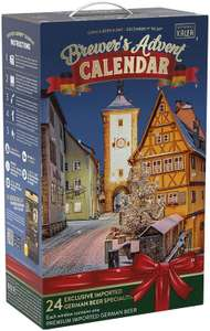 Kalea 2019 brewers advent German beer xmas advent calendar (24x500ml beers) £29.99 - Dispatched from and sold by Rujia2018 on Amazon