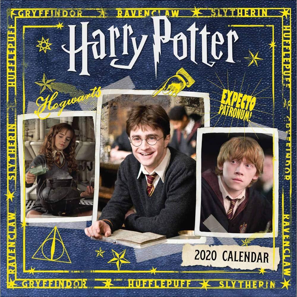 Harry Potter 2020 Calendar - Official Square Wall Format Calendar £2.49 + £2.99 NP @ Amazon