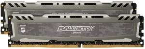 Up to 30% off Crucial Ballistix 16GB Memory-Eg. Ballistix Sport LT 3200MHz, 32GB(16GBx2),CL16 for £99.50 (All listed/link in OP) @ Amazon UK