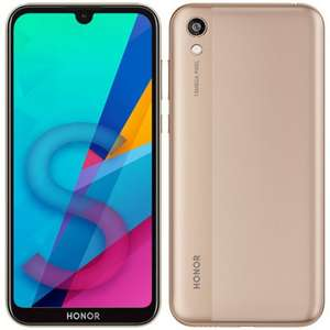 Honor 8S, 32GB Storage, 13MP AI Rear Camera, 5.71 Inch, Android 9.0, Face Unlock, UK Official Gold - £79.99 delivered @ Amazon
