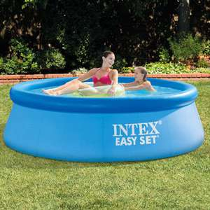 Intex Easyset 8ft round pool now £18.19 free delivery @ Eurocarparts