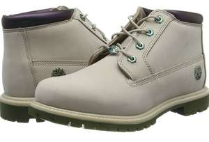 Timberland Women's Nellie Chukka Double Ankle Boots in Beige Light Taupe Nubuck £45.50 Amazon
