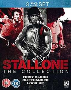 Stallone Collection (First Blood/Cliffhanger/Lock Up) [Blu-ray] - £7 @ Amazon Prime / +£2.99 non Prime