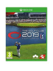 The Golf Club 2019 Xbox One now £9.99 (+£2 click and collect) at Very