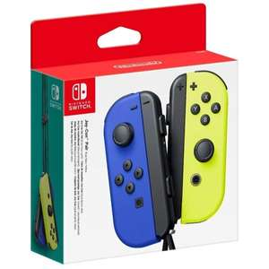 Nintendo Switch Joy-Con Controller Pair (Blue/Neon Yellow)/(N Red/ N Blue) £53.99/ (Neon Purple/Neon Orange) for £55.34 with Code @ 365games