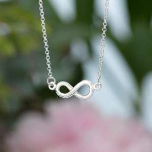 75% off Elegant Sterling Silver Infinity Necklace £9.95/ £11.90 Delivered with code From Lily Charmed