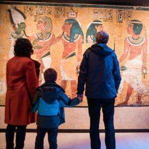 Tutankhamun: Treasures of the Golden Pharaoh Tickets at Saatchi Gallery half term family pass £72.05