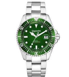 Gigandet Automatic Men's Analogue Divers Watch Green Silver £112.75 @ Amazon