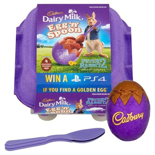 Cadbury's Egg n Spoon double chocolate and Oreo ones £1 @ Tesco