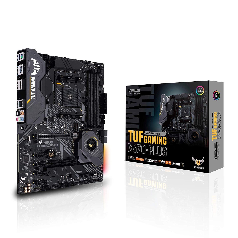 Asus TUF GAMING X570-PLUS AMD Ryzen DDR4 RGB ATX Motherboard - Socket AM4 £168.99 at AWD-IT