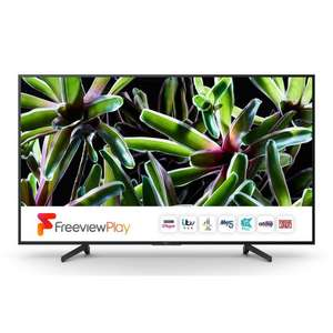 Sony KD43XG7003BU (Black) 43 inch 4K Ultra HD HDR Smart LED TV Freeview HD £389 With Code @ Richer Sounds