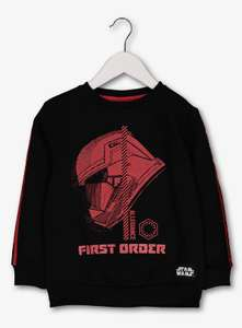 Star Wars Stormtrooper Black & Red Sweatshirt - 4 / 5 years, Now £5.50 @ Argos + free Click and Collect