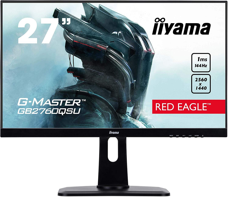 """iiyama GB2760QSU-B1 27"""" G-Master 144hz QHD LED Gaming Monitor with FreeSync £269.99 at Amazon"""