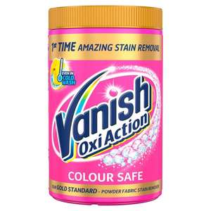 Vanish Gold Oxi Action Stain Remover (White & Colour) Powder 1.35Kg - £6 at Tesco instore & online, 3 for £13 with code