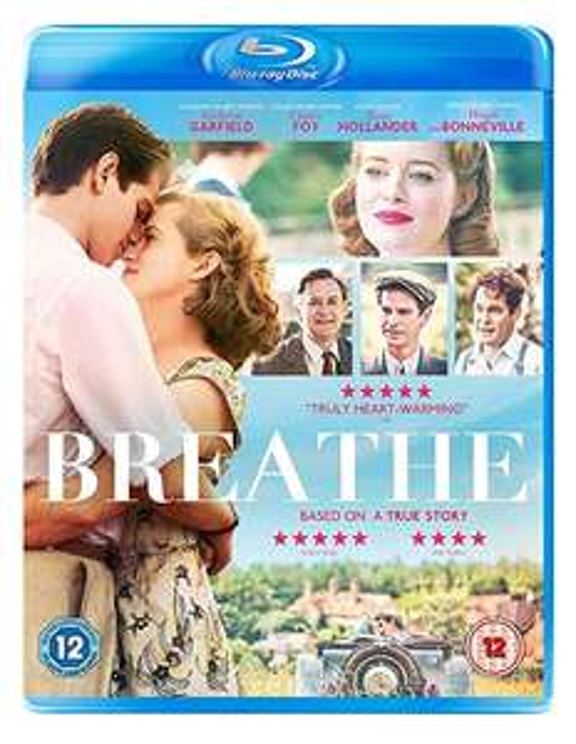 Breathe [Blu-ray] [2017] £3.49 @ Amazon Prime / £6.48 Non Prime
